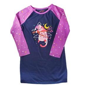 CAT & JACK Kids Girls Nightgown Purple Size 6